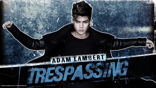 Adam Lambert Tresspasing (Wallpaper HQ) Design by Me. Download It Here