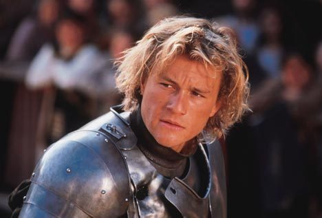 A Knight's Tale is being adapted as a drama for ABC.  The 2001 feature starring Heath Ledger, is headed to the small screen in a series adaptation written by Battlestar Galactica developer/executive producer Ron Moore. ABC has bought the project, from Sony Pictures TV, with a script commitment.  This is the second Heath Ledger film set to become a TV series. What film will be next? Brokeback Mountain? Monster's Ball?