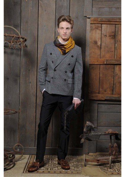 mensfashionworld:  Christian Pellizzari Fall/Winter 2012
