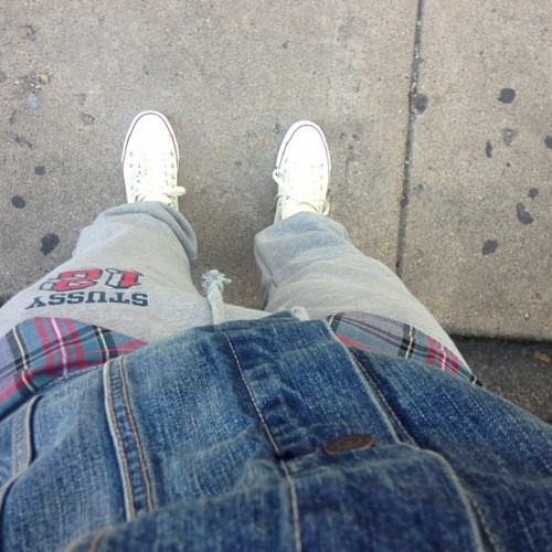 #ootd #Stussy #levi #jcrew #chucktaylor #Style RANDOMNESS  (Taken with Instagram at Congress Theater)
