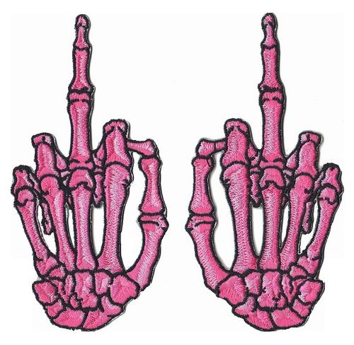 transparent skeleton hands
