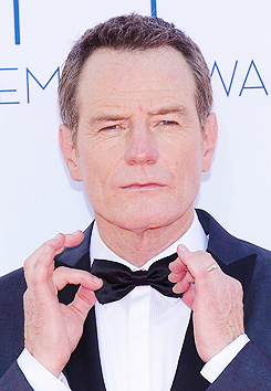 annperkins:  Bryan Cranston arrives at the Academy of Television Arts & Sciences 64th Primetime Emmy Awards at Nokia Theatre L.A. Live on 9/23/2012 in Los Angeles, California.