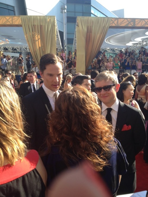 cumberbuddy:  The Sherlock boys! http://twitpic.com/axr86x