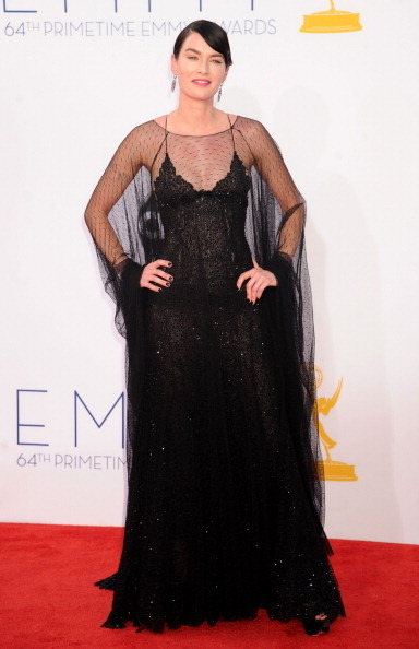 bohemea:  Lena Headey - 2012 Emmys PERFECT WOMAN! She's like a dark goddess.