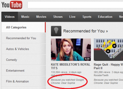 Uh…..Thanks YouTube.