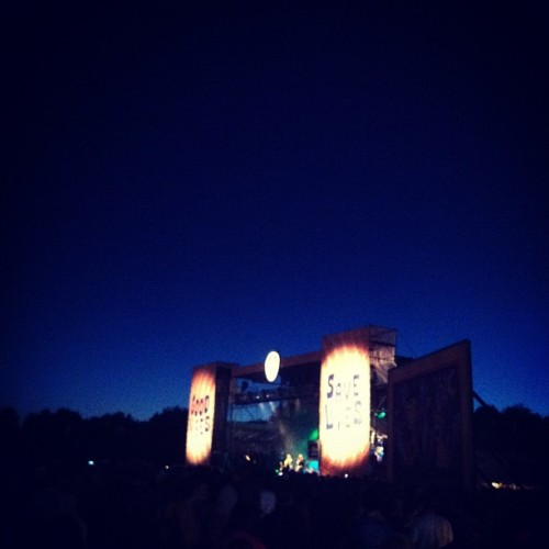 Dave Matthews is slaying right now. #ligfest  (Taken with Instagram)