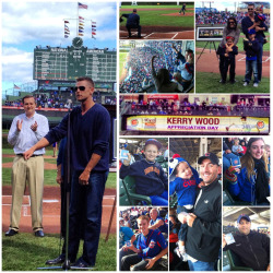 Kerry Wood, his family and fans celebrated Kerry Wood Appreciation Day in a number of ways at Wrigley Field today.