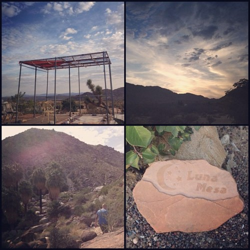 desert retreat @ luna mesa, joshua tree 💫🌵 (Taken with Instagram)