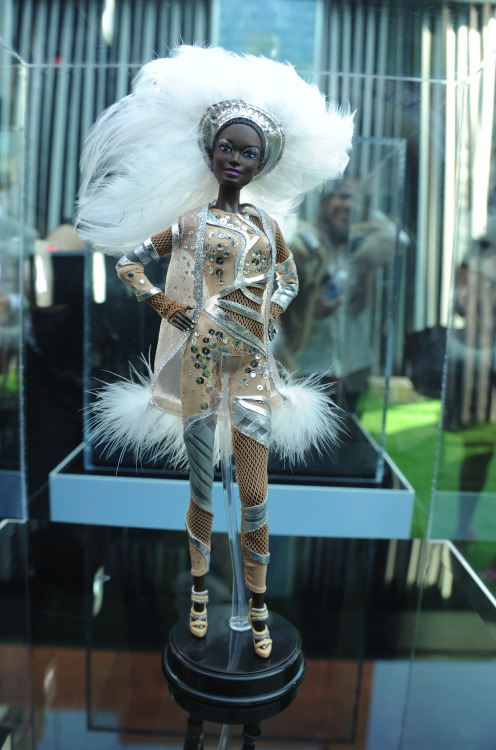 Have you met Pazette Barbie?  She was a smash on the Great Lawn at our #nyfw show!  Isn't she grand?