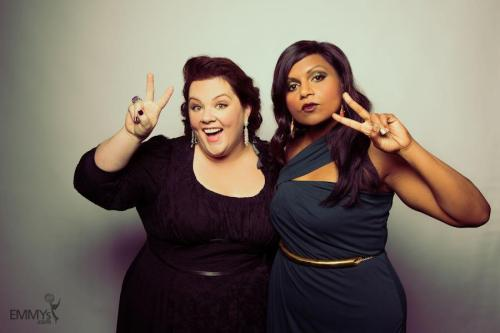 devanclara:  Mindy Kaling and Melissa McCarthy