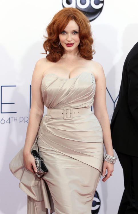 bohemea:  suicideblonde:  Christina Hendricks at the 2012 Emmys, September 23rd   Glorious.