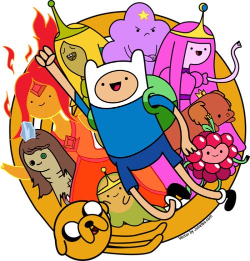 I find that I am kid of obsessed with Adventure Time.
