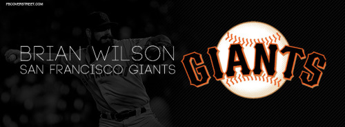 Brian Wilson San Francisco Giants Facebook Cover