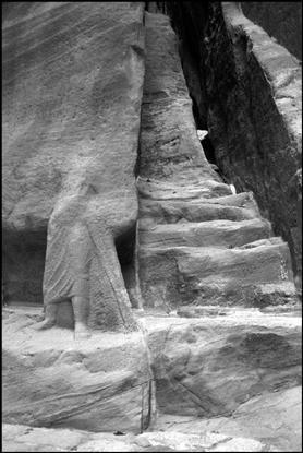 mythologyofblue: Martine Franck, Governorate of Al 'Aqaba, Petra, Jordan, 2001