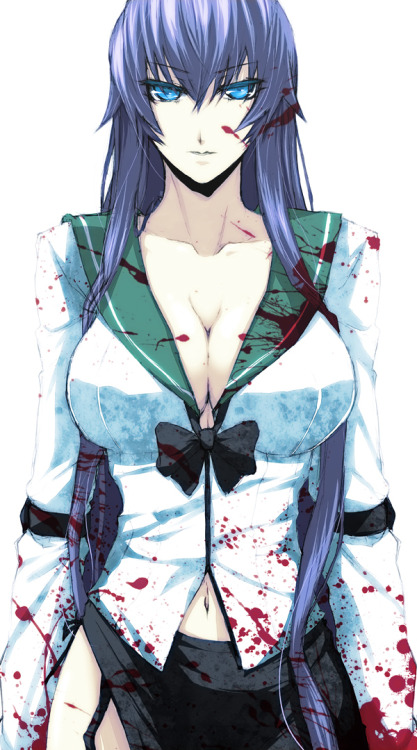 honeybearchan:  Saeko from High School Of The Dead