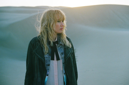 "Ladyhawke, on the set of ""Blue Eyes"" directed by Jess Holzworth. End of the day."