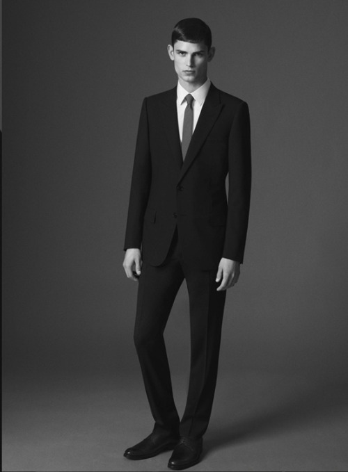 dior homme autumn/winter 2012 feat. arthur gosse by paul wetherell