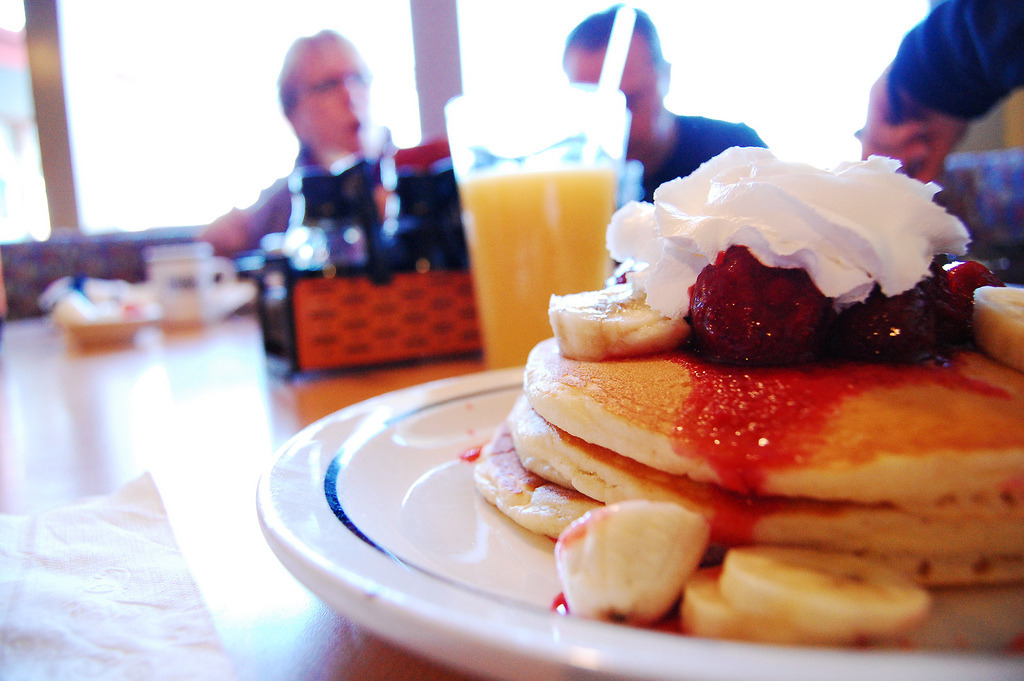 IHOP Strawberry Banana Pancakes (by Mitch.Montana)
