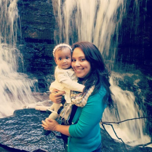 #SophiaMarie i love this #babygirl #waterfall #rockland #NY #beautiful #mommydaughtertime #nature  (Taken with Instagram)