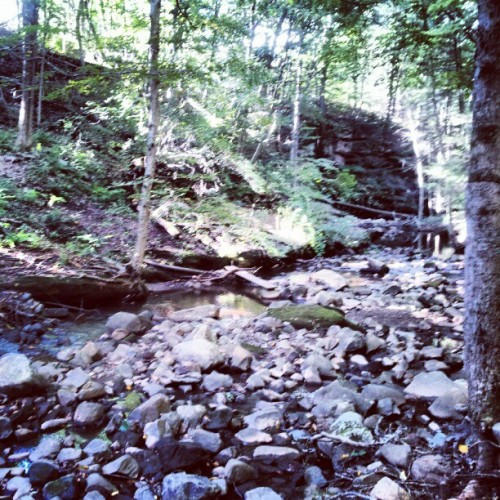 #nature #beautiful #rocks #water #rockland #NY  (Taken with Instagram)