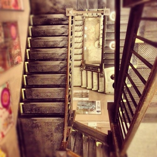 Stairs at ABC Home, Union Square, September 2012  (Taken with Instagram at ABC Carpet & Home)