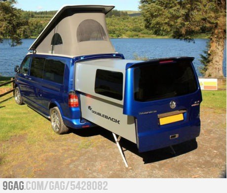 9gag:  Who's up for camping?