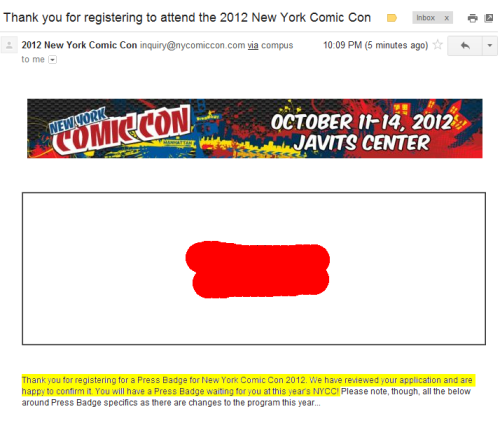 See you all at New York Comic Con!