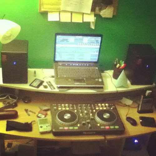 Current DJ setup 👊 (Taken with Instagram)