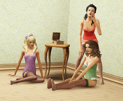skylightsims:   Lay yourself down by the side of the bed Oh you naughty girl you know you tickle me red You look so dumb and you sound so twee And you can only wish that you was married to me   Song Picture