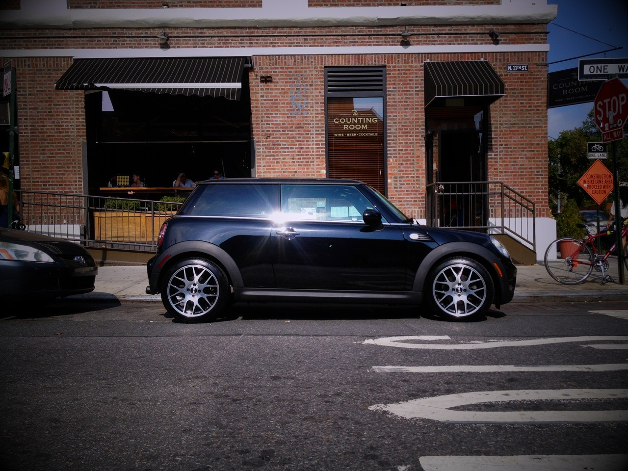 I bought a car this weekend— a 2010 Mini Cooper Hardtop. Life in NYC is interesting. You typically stay in the same neighborhoods and go to the same places because, well, it's familiar and it's easy to get to via the subway. But that leaves whole swaths of NYC and its' wonderful neighborhoods unseen because it's just so expensive or such a pain in the butt to get to.  Not anymore. The city and the surrounding areas are mine. I've got a bike rack coming for the roof. Installing it this week. Now I can go anywhere I want with my bike on top. I'm sure more and more of my weekends will be spent outside of the city, in the countryside. I need that right now. Starting a new company is stressful and I've found just taking a breather and not working on Sherpaa on the weekends keeps me sane.  I went to the beach yesterday at Fort Tilden, just because I wanted to. I went to the driving range tonight out near Coney Island, just because I can. It's a whole new era for me and NYC.
