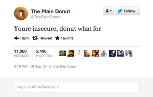 whorenarry:  that's one witty donut