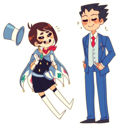 airinn:  trucy's dad has got it going on