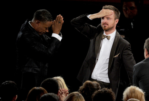Best pic from the 2012 Emmy Awards. GIFs here.