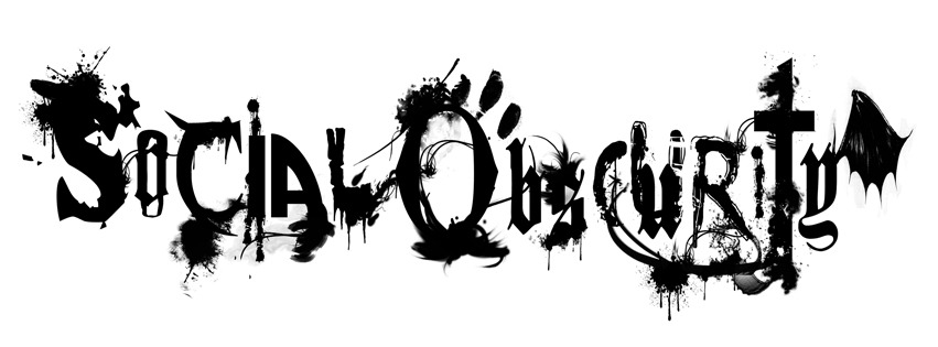 This is the logo for Social Obscurity Magazine. Let me know what you think.
