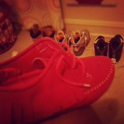 Hmmm, I MIGHT Wear These To School 2ma , ! ^_^ (Taken with Instagram)