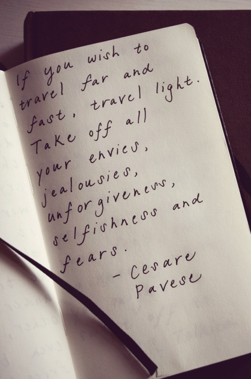 tradlands:  Quote by the Italian poet and novelist, Cesare Pavese