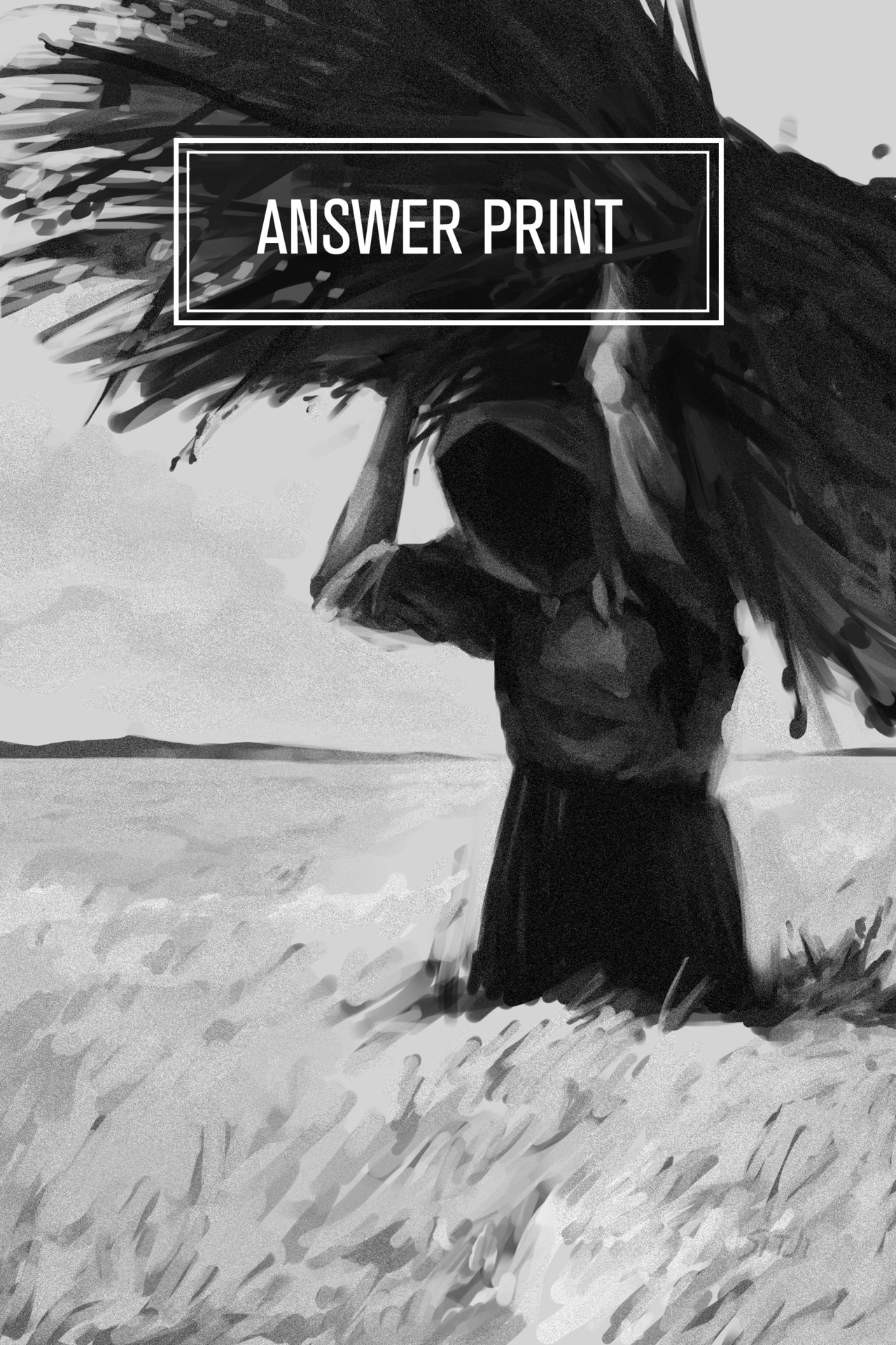 The cover of Answer Print (fall 2012) for the Calgary Society of Independent Filmmakers. The theme was harvest * o* I don't think the text is permanent though, I just added it in fo' funziez