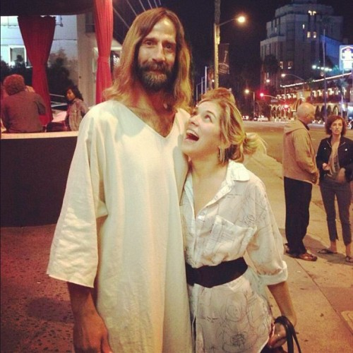 Hollywood Jesus 😱 (Taken with Instagram)