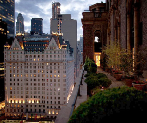 Fifth Avenue full-floor apartment with views of the Plaza Hotel, the Empire State Building and Central Park. More pictures here
