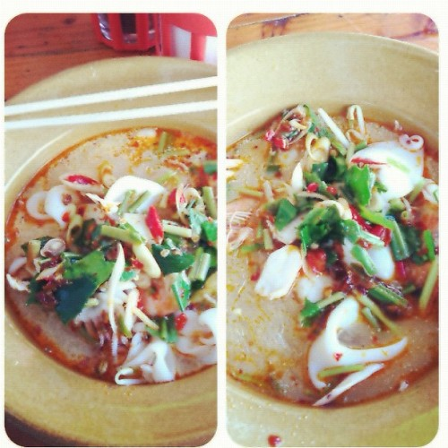 Seafood Tomyam Noodel (Taken with Instagram)