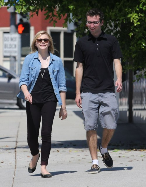 Chloe Moretz lunch with Danny Licht - 23rd September 2012