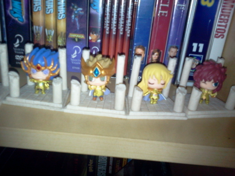 WIIIiii I finally got my whole petichara set!! <3<3 They're so cute!!