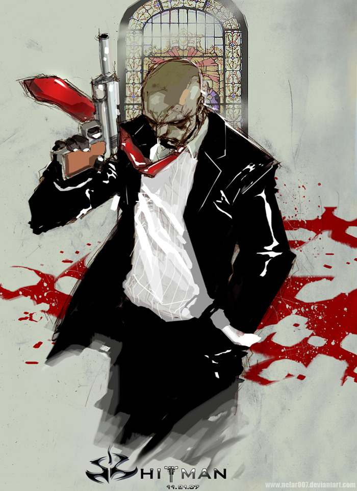 bluedogeyes:  Hitman by nefar007