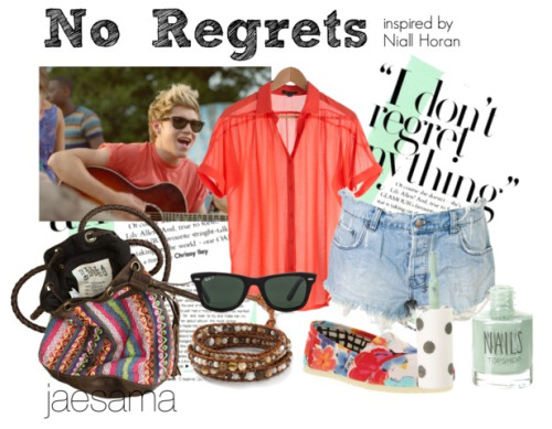 """No Regrets"" - LWWY outfit inspired by Niall Horan :)"