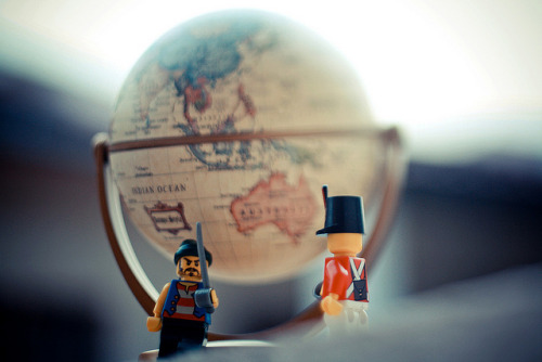 "lalathenosybigboss:  ""this continent is mine!"" on Flickr."
