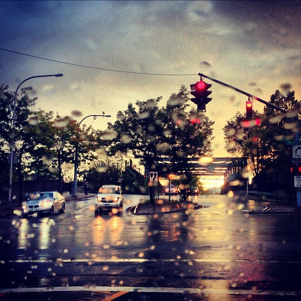 Nothing worse than a soggy New Haven. (Taken with Instagram)
