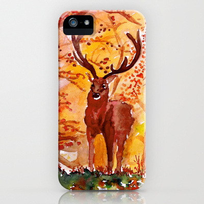 a noble deer I drew now on tshirts, Iphone cases and more! :)