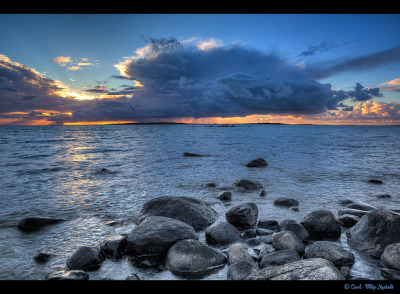 Sunset - Getterön  - Varberg by Filip Nystedt on Flickr.