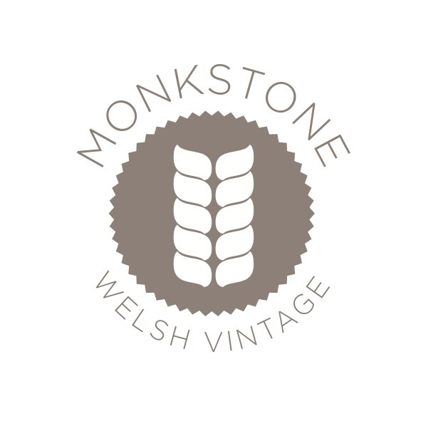 Monkstone Welsh Vintage. As we are at lots of cool events in London over the up and coming months we shall be launching an exciting *NEW mini range, Monkstone Welsh Vintage. Beautifully sourced Welsh Vintage goodies, straight from the Welsh hills to your homes. Come see us.