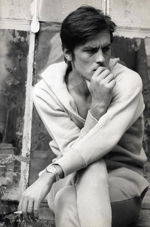 wehadfacesthen:  Alain Delon, 1960s via the60livehere